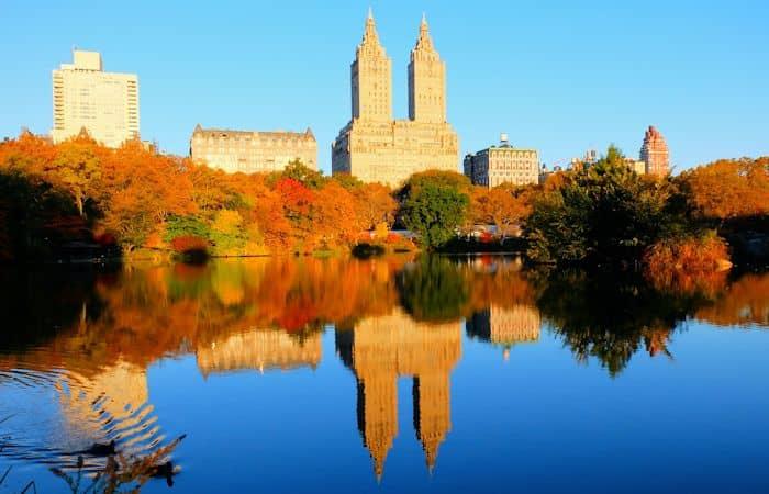 Central Park in New York - Herfstkleuren