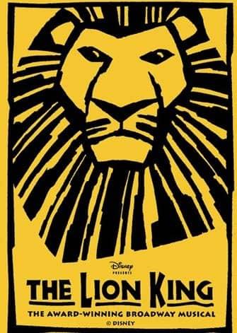 De Lion King musical in New York