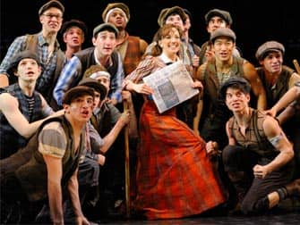 De musical Newsies in New York