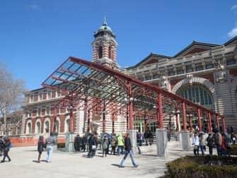 Ellis Island - Museum Ingang