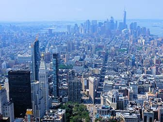 Empire State Building Tickets - Downtown Uitzicht