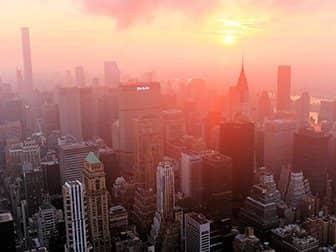 Empire State Building Tickets - Zonsopkomst East River