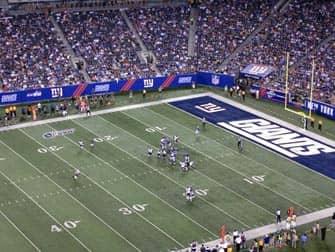 Giants wedstrijd