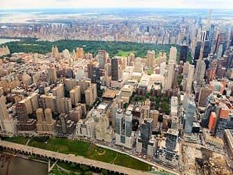 Helikoptervluchten in New York - Central Park