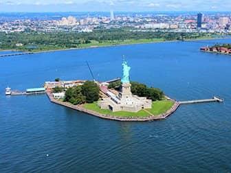 Helikoptervluchten in New York - Vrijheidsbeeld