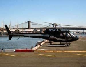 Helikoptervluchten routes in New York