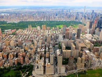 Helikoptervluchten routes in New York - Central Park