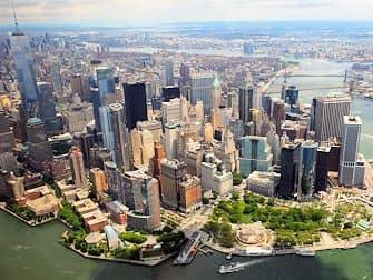 Helikoptervluchten routes in New York - Manhattan Skyline