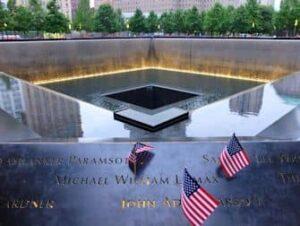 Het 9/11 Memorial-Monument in New York