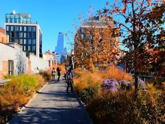 High Line Park in New York - Herfst