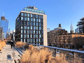 High Line Park in New York - Herfst