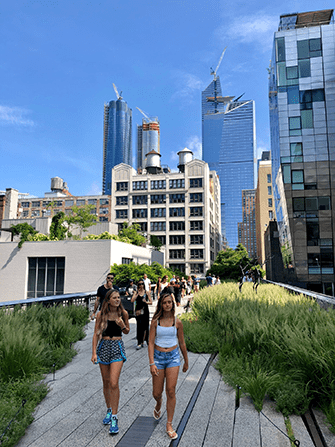 High Line Park in New York - Zomer