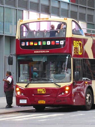 Hop On Hop Off Bus In New York Newyork Nl