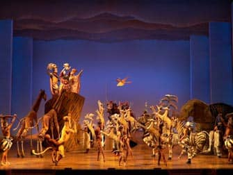 The Lion King on Broadway in New York