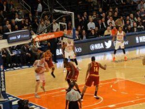 Madison Square Garden Knicks Wedstrijd