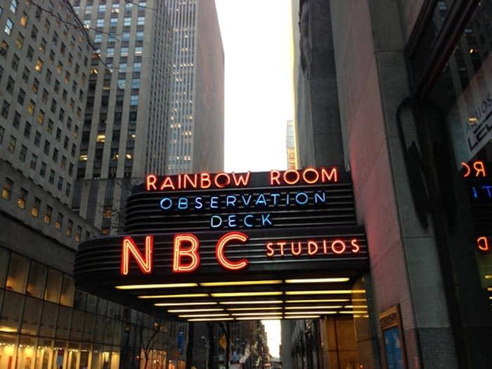 Center Studios Burbank Nbc Studios Rockefeller Center