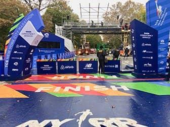 New York City Marathon - Finish