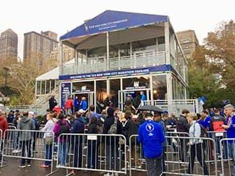 New York City Marathon - Paviljoen