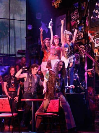 Rock of Ages de musical in New York City