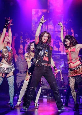 Rock of Ages op Broadway in New York City