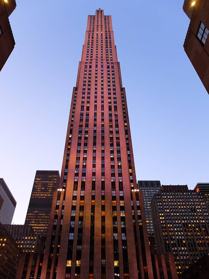 Rockefeller Center in New York - Comcast Building