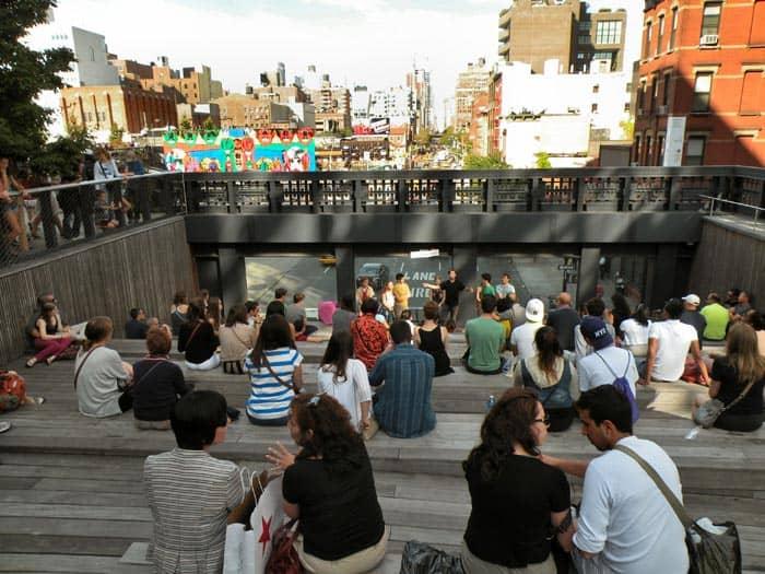 Shakespeare in High Line Park