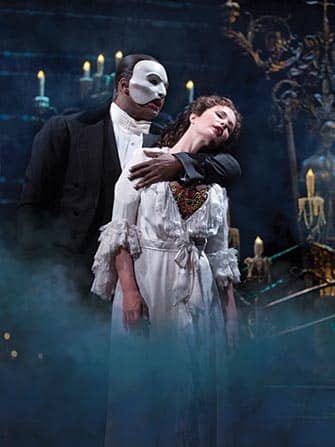 The Phantom of the Opera op Broadway New York City