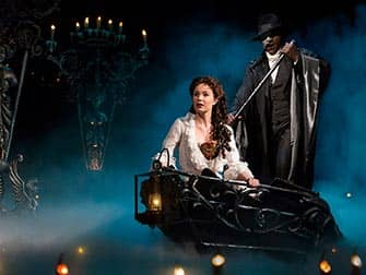 The Phantom of the Opera op Broadway