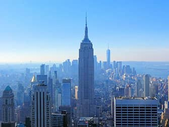 Top of the Rock Tickets - Uitzicht op Empire State Building