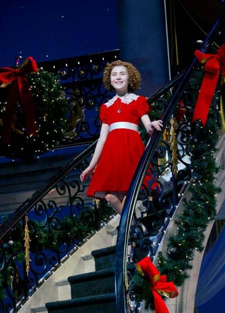 Annie de musical op broadway