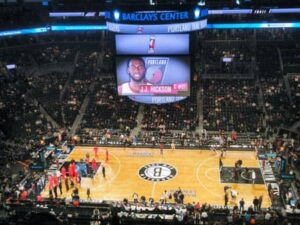 brooklyn nets stadion in new york city