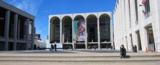 Buiten lincoln center new york