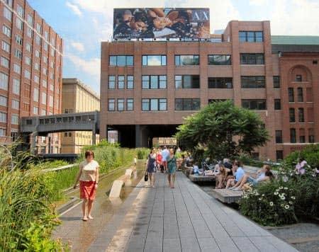 high line park in new york. Black Bedroom Furniture Sets. Home Design Ideas