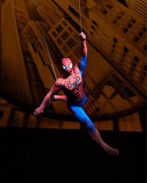 spiderman musical broadway new york