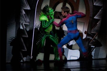 spiderman musical new york