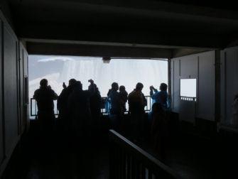Achter de Niagarawatervallen