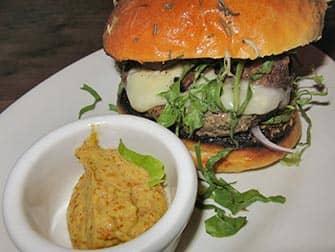 Burgers in New York Maialino burger