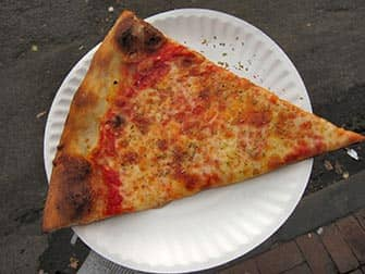 Joe's Pizza in NYC