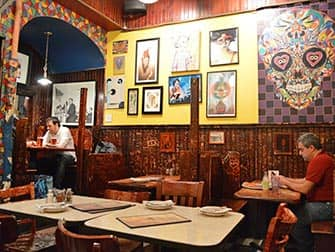 John's Pizzeria at Bleecker Street in NYC