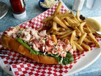 Lobster roll in Boston met een trip uit New York