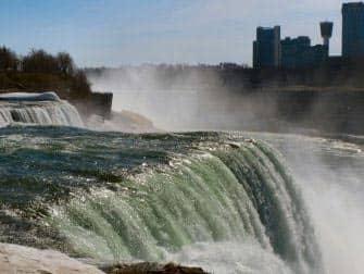 Niagarawatervallen-Amerika-kant