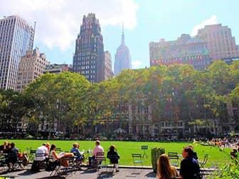 Parken in New York - Bryant Park