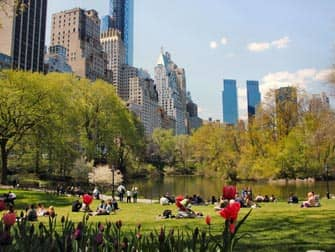 Parken in New York - Central Park