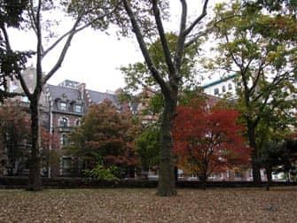 Parken in New York - Riverside Drive vanuit Riverside Park