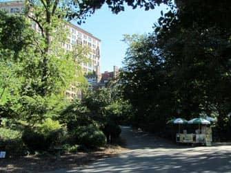 Parken in New York - Riverside Park