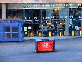 Beste sushi in New York - Blue Fin