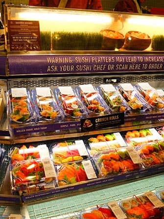 Sushi in New York - Whole Foods