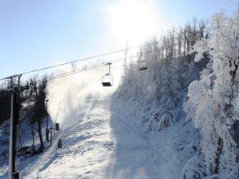 Windham Mountain Skien vanuit New York