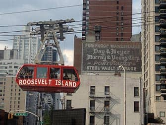 Winkelen in Upper East Side in NYC - Roosevelt Tram
