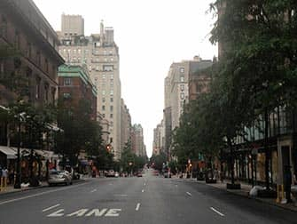 Winkelen in Upper East Side in NYC - Straatbeeld